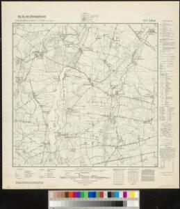 Meßtischblatt 3470 : Libau, 1940