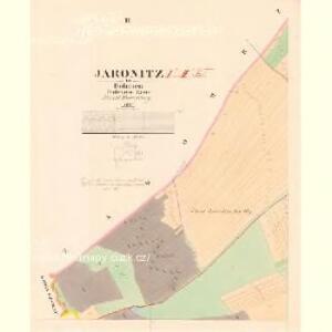 Jaronitz - c2772-1-002 - Kaiserpflichtexemplar der Landkarten des stabilen Katasters