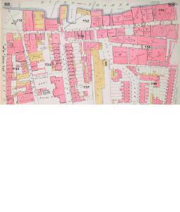 Insurance Plan of City of London Vol. IV: sheet 88-1
