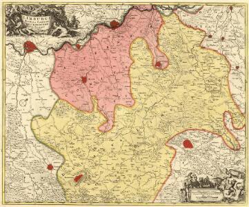 Limburgi Ducatus et Comitatus Valckenburgi Nova Descriptio