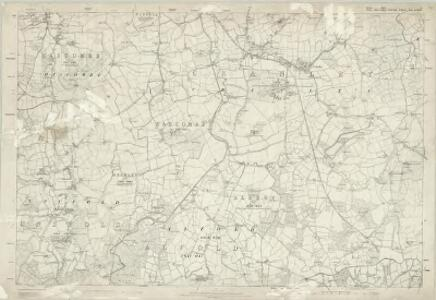 Sussex I - OS Six-Inch Map