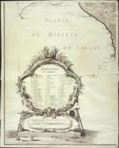 Carte particuliere du diocese de Rouen, 4