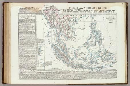 Malesia ossia Arcipelago Indiano, ed India-Transgangetica.