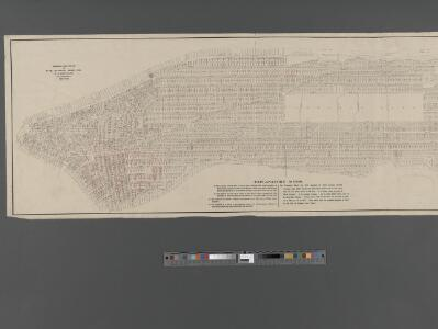 Fire Chart of the Borough of Manhattan, N.Y.
