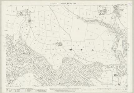 Somerset LVII.14 (includes: Dulverton; Withypool) - 25 Inch Map