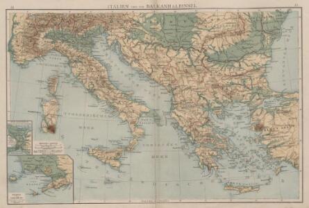 Italien und die Balkanhalbinsel