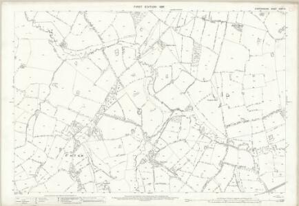 Staffordshire XXXVII.9 (includes: Ranton; Seighford) - 25 Inch Map