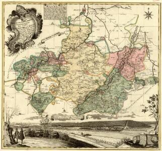 Accurate Geographische Delineation Des Stiffts Naumburg und Zeitz