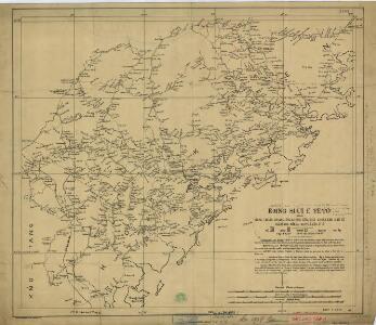 Amoy and surrounding region, China (1902)