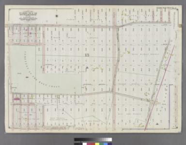 Part of Wards 29 & 32, Land Map Section, No. 15. Volume 2, Brooklyn Borough, New York City.