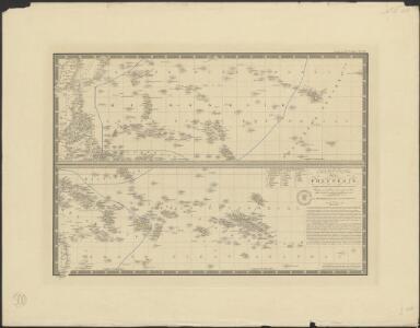 Carte particulière de La Polynésie : parties orientale et septentrionale de L'Océanie [...]