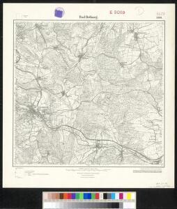 Meßtischblatt 2369 : Bad Driburg, 1932