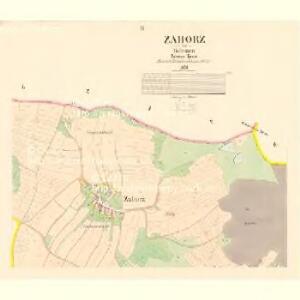 Zahorž - c9060-1-002 - Kaiserpflichtexemplar der Landkarten des stabilen Katasters