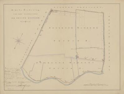 Waterschap de Groote Houtdijk, gemeente Kamerik (U.) en Woerden.