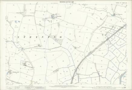 Sussex LI.8 (includes: Steyning; Upper Beeding) - 25 Inch Map