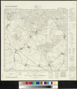 Meßtischblatt 4045 : Schlenzer, 1943