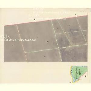 Göding (Hodonin) - m0741-1-003 - Kaiserpflichtexemplar der Landkarten des stabilen Katasters