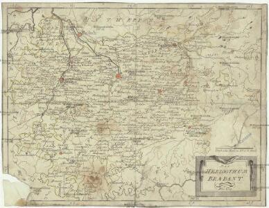 Das Herzogthum Brabant