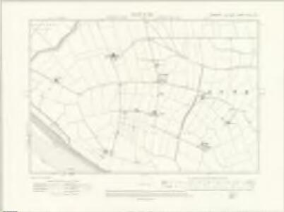 Yorkshire CCLVI.SW - OS Six-Inch Map