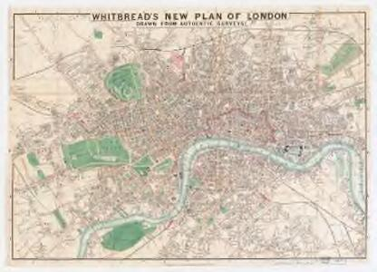 Whitbread's new plan of London