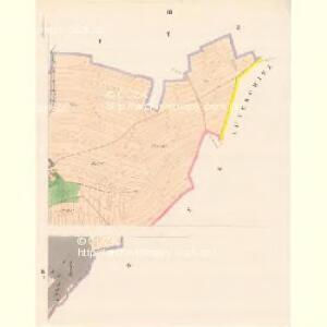 Schlowitz (Slowice) - c7750-1-003 - Kaiserpflichtexemplar der Landkarten des stabilen Katasters