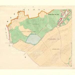 Daubrawitz (Daubrawice) - m0563-1-001 - Kaiserpflichtexemplar der Landkarten des stabilen Katasters