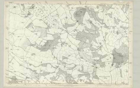 Buckinghamshire XLII - OS Six-Inch Map