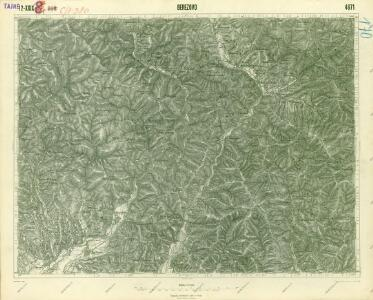 III. vojenské mapování 4671