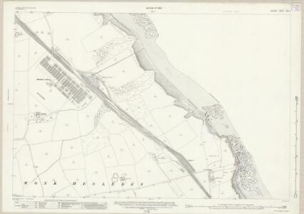 Durham XXIX.9 (includes: Monk Hesleden) - 25 Inch Map