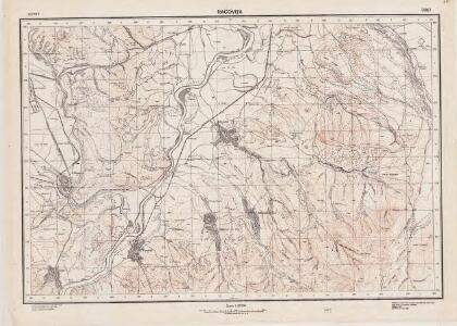 Lambert-Cholesky sheet 3357 (Racoviţa)