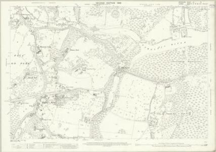 Berkshire XL.13 (includes: Egham; Old Windsor; Sunningdale; Sunninghill; Winkfield) - 25 Inch Map