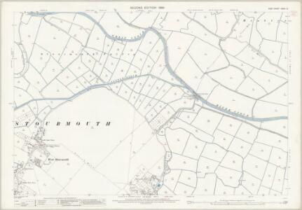 Kent XXXVI.8 (includes: Ash; Chislet; Monkton; Preston; Sarre; Stourmouth) - 25 Inch Map