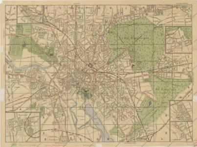 Plan von Hannover