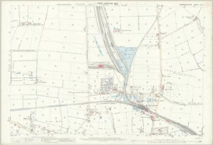 Cambridgeshire XII.13 (includes: March) - 25 Inch Map