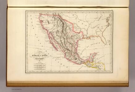 Etats-Unis du Mexique, 1835.