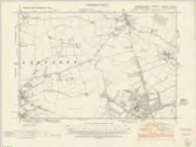 Cambridgeshire XLV.NE - OS Six-Inch Map