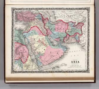 Asia (South Western Sheet).