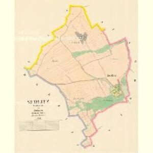 Sedlitz (Sedlice) - c6795-1-001 - Kaiserpflichtexemplar der Landkarten des stabilen Katasters