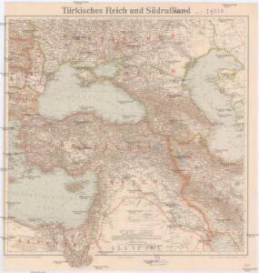 Türkisches Reich und Südrußland