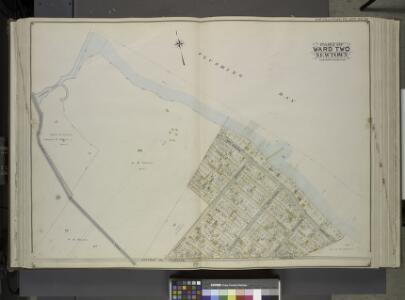 Queens, Vol. 2, Double Page Plate No. 20; Part of     Ward two Newtown; [Map bounded by Flushing Bay, Bay Shore Terrace, Harbour PL.;  Including Sound View PL., Astoria and Flushing Turnpike, Old Bowery Road,        Jackson's Creek]