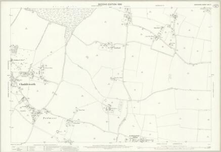 Berkshire XXVI.7 (includes: Brightwalton; Chaddleworth; Leckhampstead) - 25 Inch Map