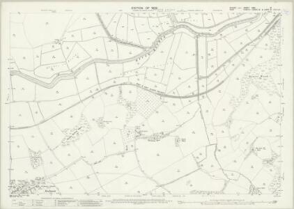 Sussex XXXI.10 (includes: Bodiam; Ewhurst; Northiam; Sandhurst) - 25 Inch Map