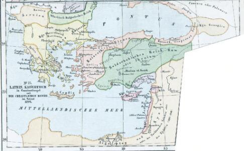 Latein. Kaisertum in Constantinopel und die christlichen Reiche im Orient 1204