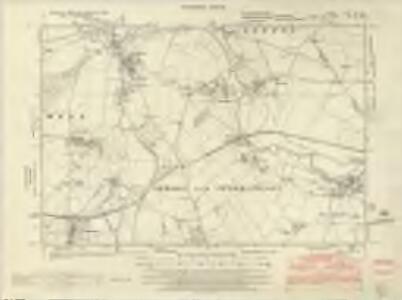 Huntingdonshire I.NE & SE - OS Six-Inch Map