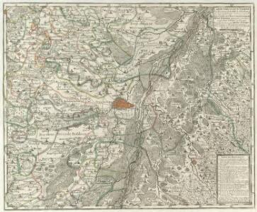 Carte Tres Particuliere Des Environs de la Ville de Strasbourg Avec toutes les subdivisions des Terres y comprises