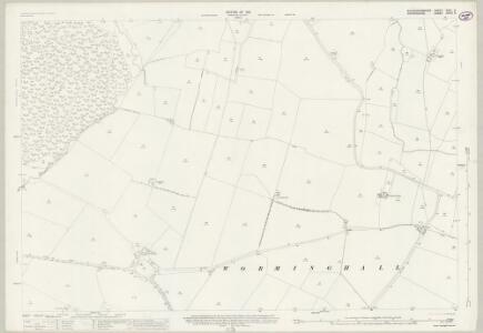 Buckinghamshire XXXI.8 (includes: Oakley; Worminghall) - 25 Inch Map