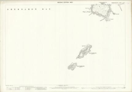 Caernarvonshire XLVI.4 (includes: Aberdaron) - 25 Inch Map