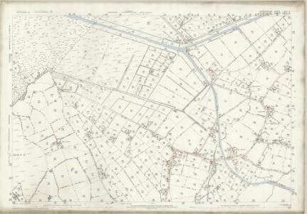 Shropshire XIV.2 (includes: Bettisfield; Wem Rural; Whixall) - 25 Inch Map