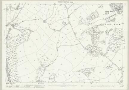 Devon CXXVIII.5 (includes: Brixham; Churston Ferrers) - 25 Inch Map