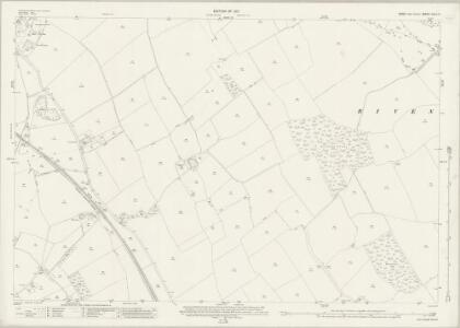 Essex (New Series 1913-) n XLV.3 (includes: Cressing; Faulkbourne; Witham) - 25 Inch Map